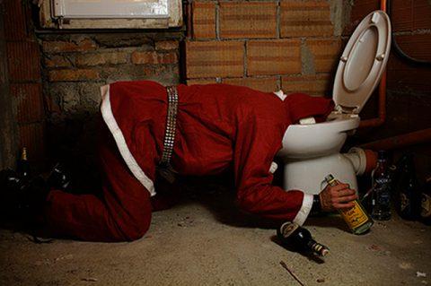 Babbo Natale e il croupier alieno