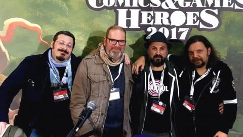 Un venerdì di novembre a Lucca Comics & Games 2017