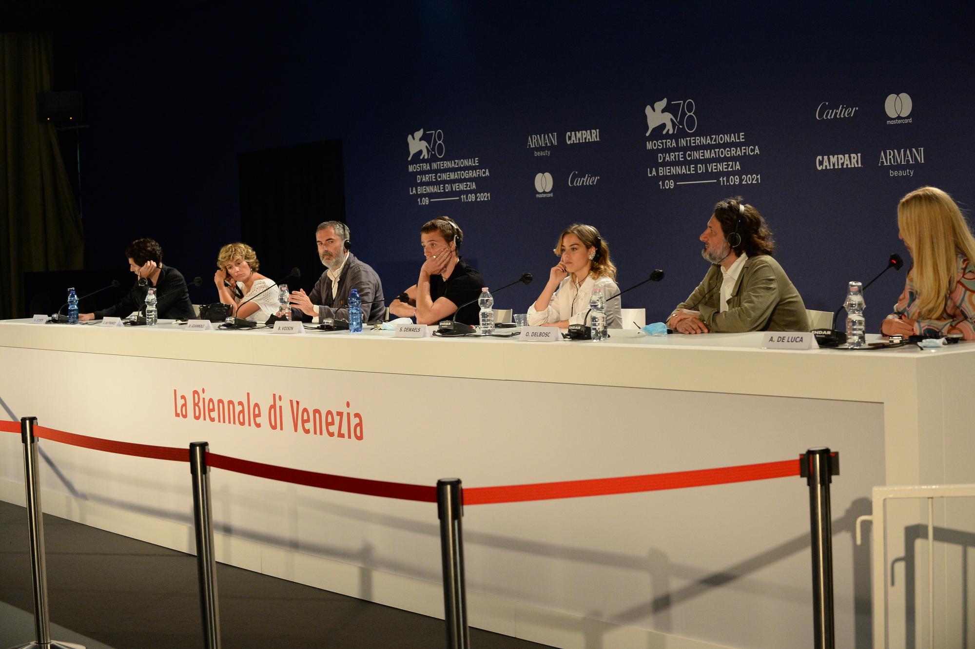 Illusions Perdue, conferenza stampa a Venezia 78