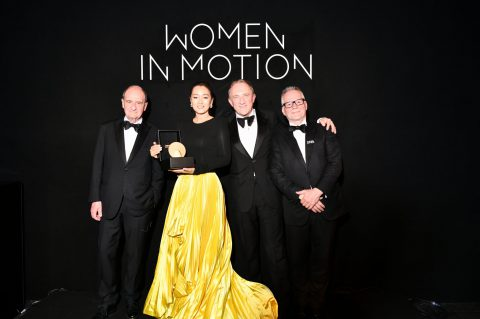 Women In Motion Awards' dinner in Cannes