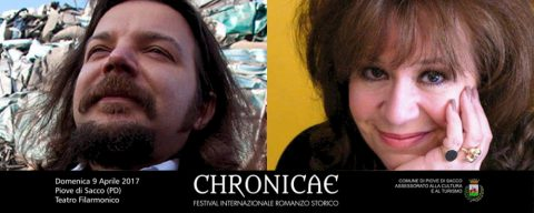 Alex Connor e Matteo Strukul protagonisti a Chronicae 2017