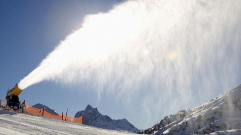 La neve delle dolomiti in trasferta a Selvazzano per lo spot di Un'ambulanza per Padova