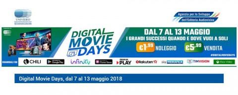 Una settimana pazzesca di grande cinema con Digital Movie Days