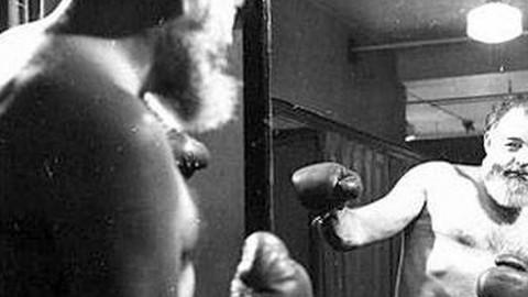 Ernest Hemingway sul ring