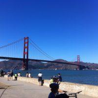 Le strade di San Francisco Golden gate