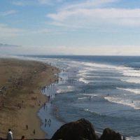 Le strade di San Francisco ocean beach