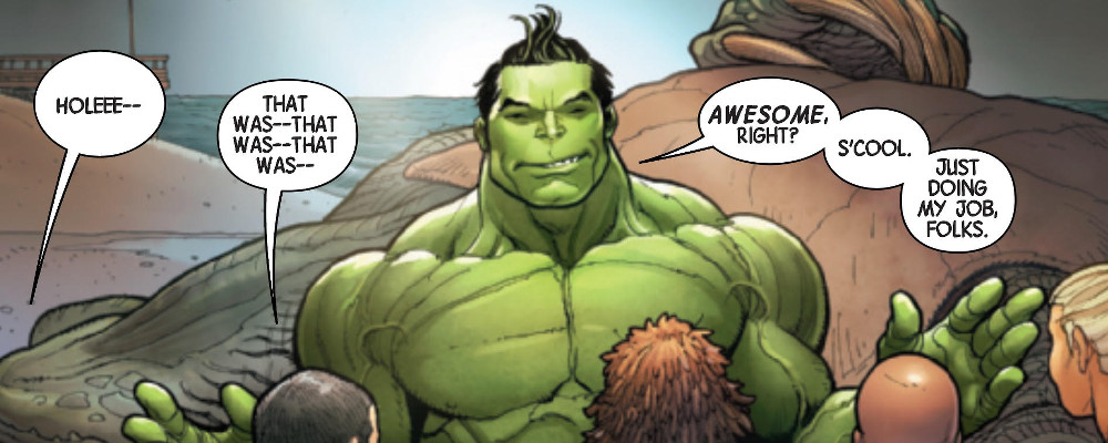 Il fichissimo Hulk di Frank Cho e Greg Pak featured