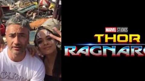 Il regista Taika Waititi posta un video rivelando nuovi particolari dal set di Thor: Ragnarok