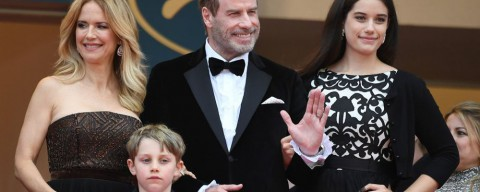 John Travolta a Cannes veste Matteo Perin, un veneto doc | Cannes 2018