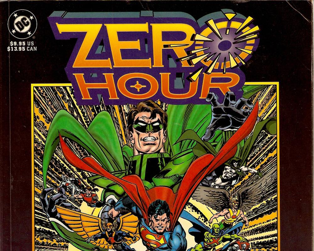 La Caduta degli Dei, da Crisi sulle Terre Infinite a Zero Hour