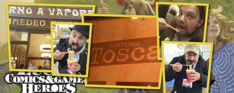 Mangiare a Lucca Comics & Games, non solo ramen
