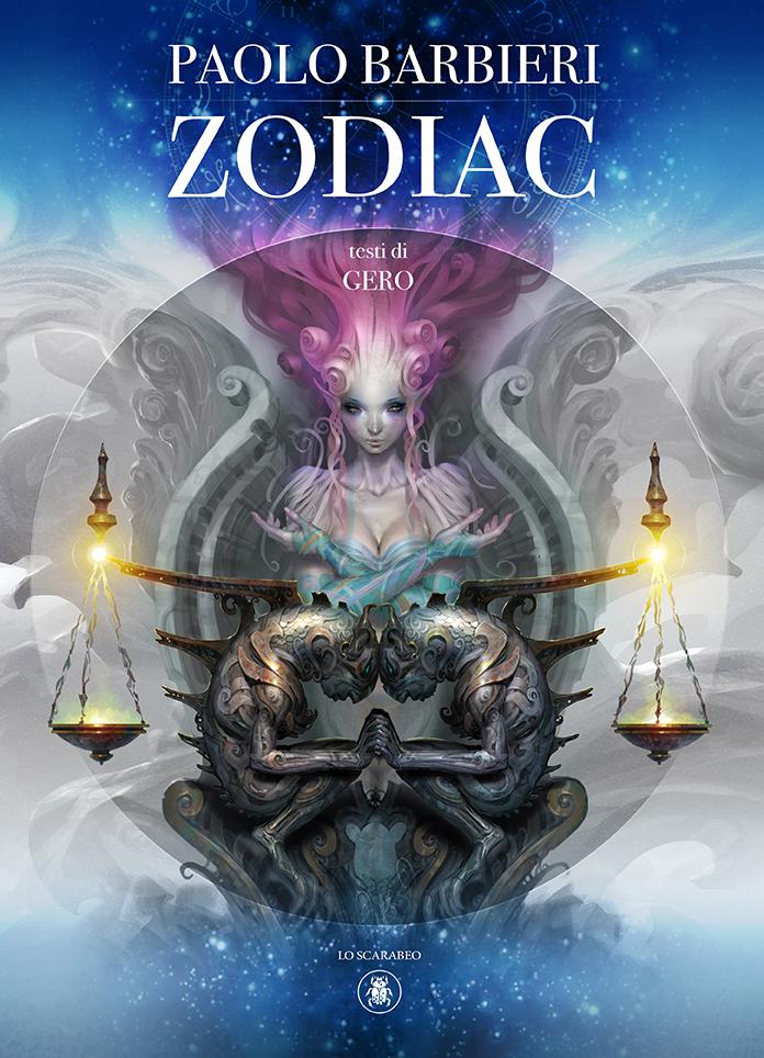 Zodiac, il nuovo libro illustrato di Paolo Barbieri a Lucca Comics & Games