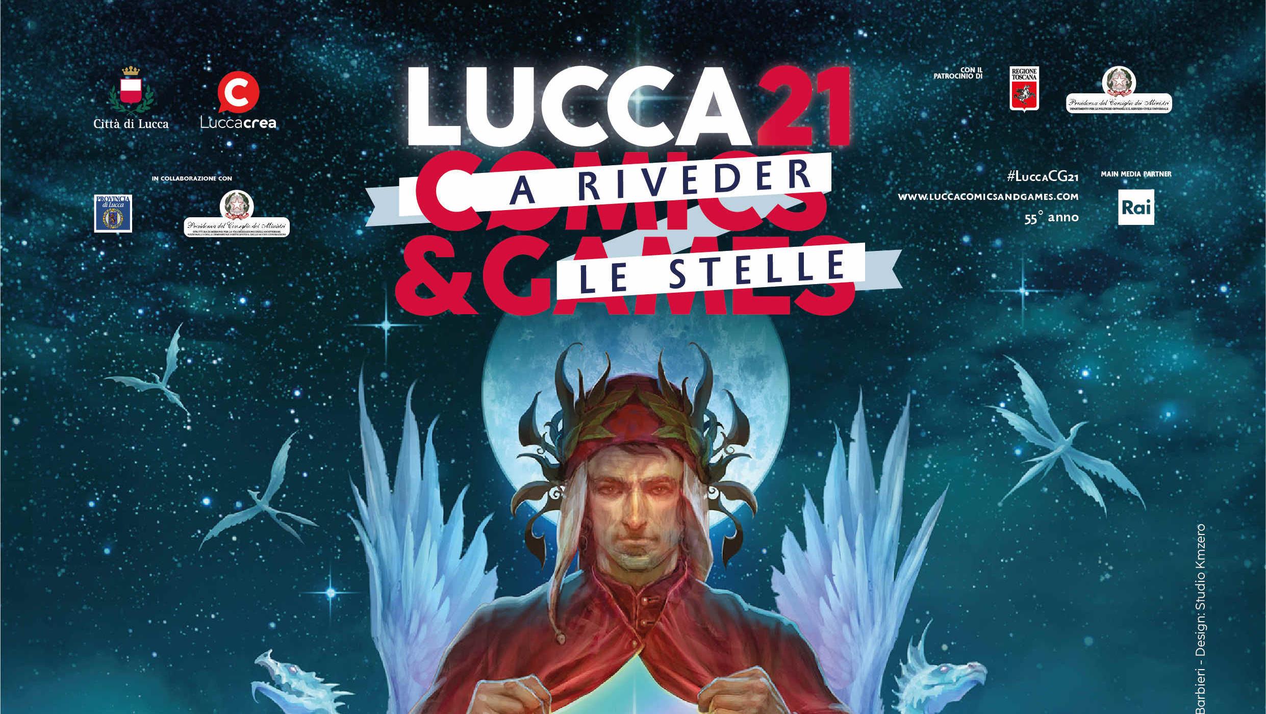Lucca Comics and Games 2021… a riveder le stelle, presentato il programma