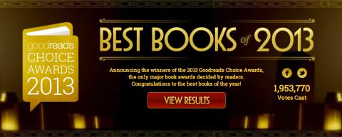 Best Books of 2013: ecco i 20 magnifici scelti dai lettori di GoodReads