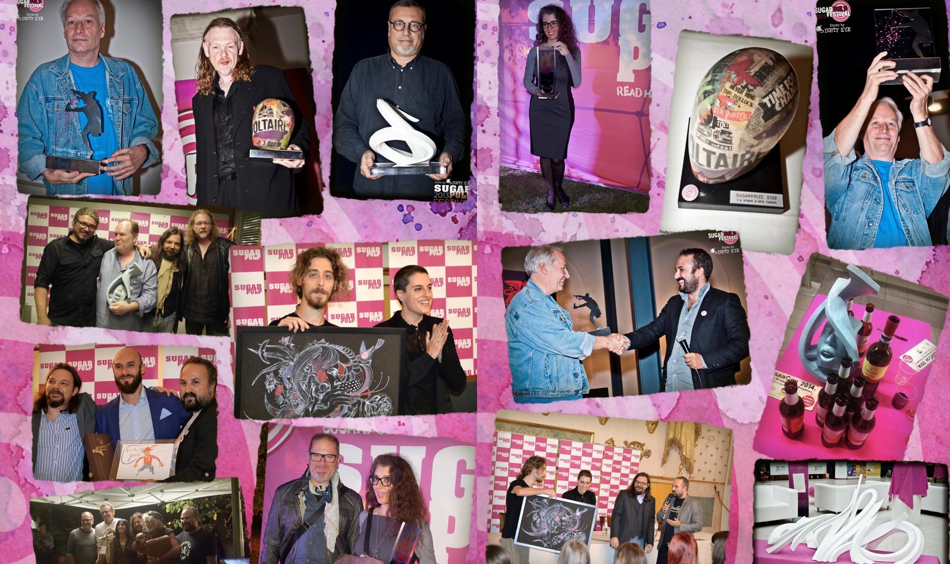 Sugarprize, svelati gli artisti che hanno realizzato i premi per la SUGARCON-X