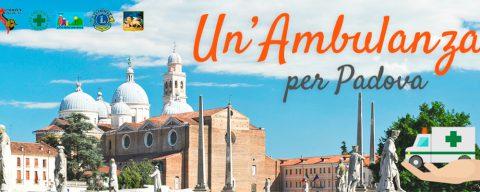 Un'ambulanza per Padova, doniamo un nuovo mezzo alla Croce Verde