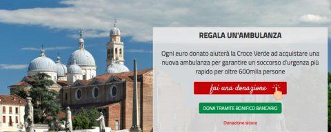 Un'ambulanza per Padova: regaliamo un'ambulanza alla Croce Verde
