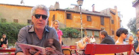 Anthony Bourdain e le sue Kitchen Confidential