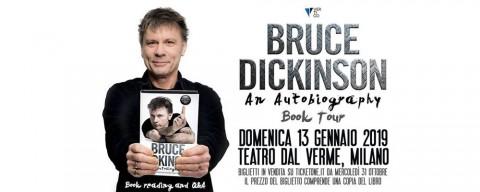 Bruce Dickinson, il book tour fa tappa anche a Milano