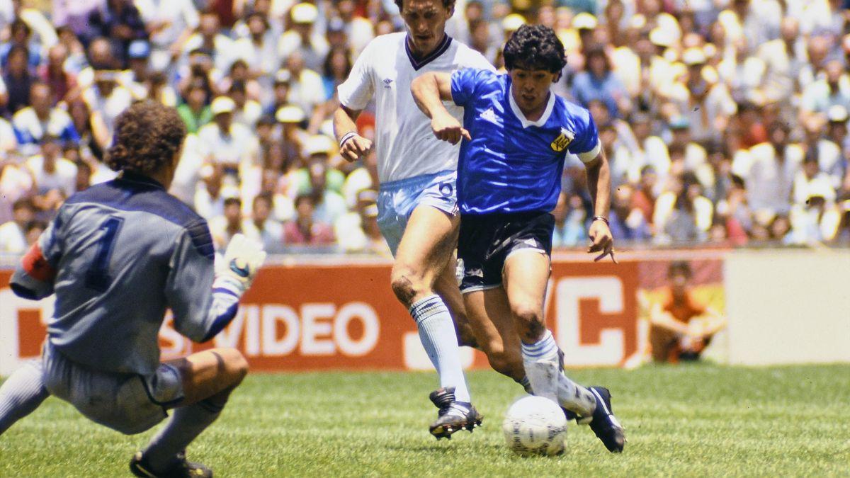 Maradona, Inghilterra Argentina 1986
