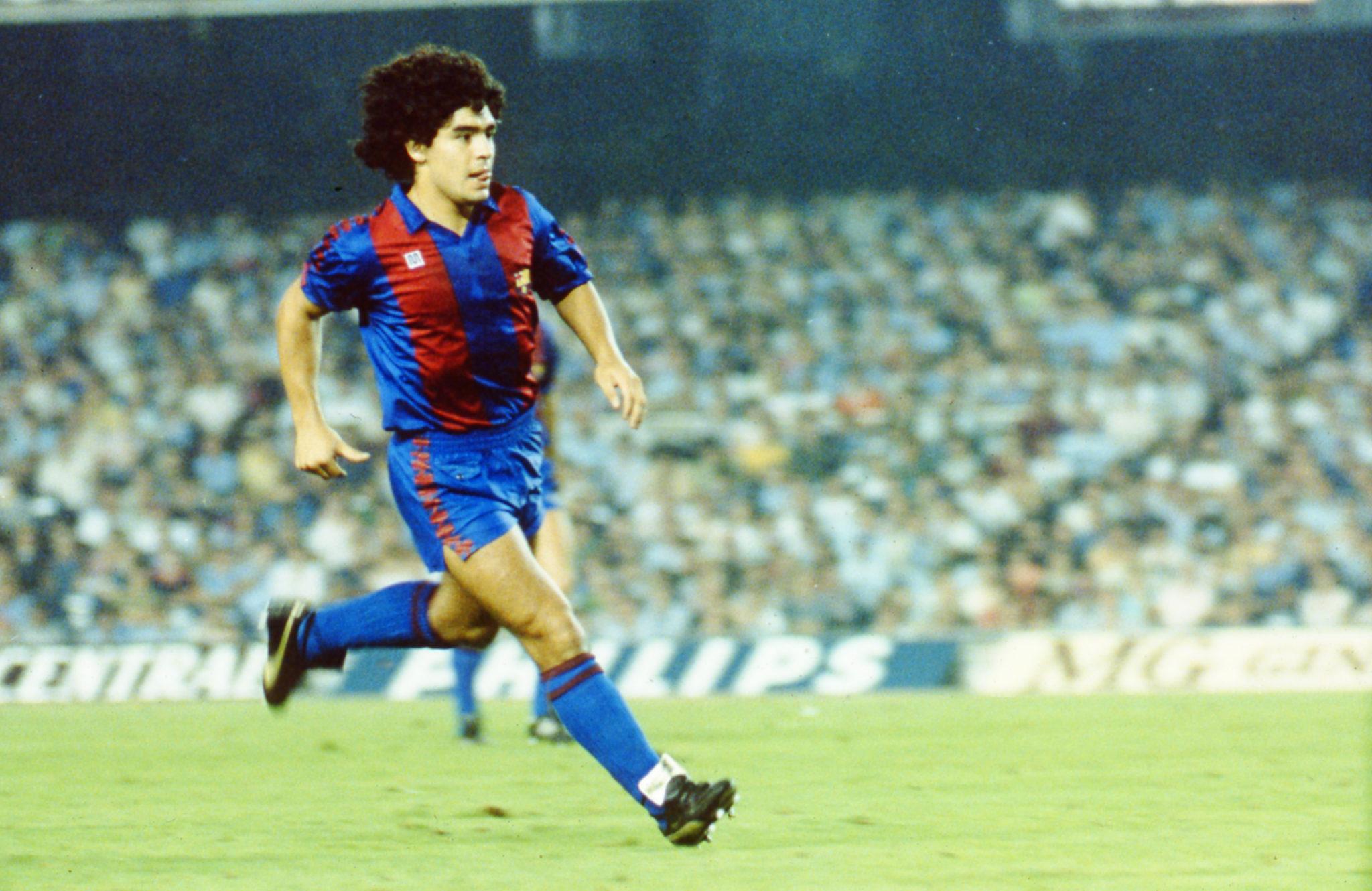 Diego Armando Maradona, Barcelona 1983