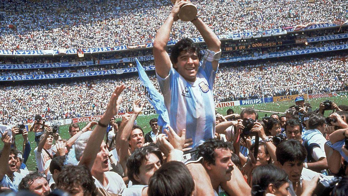 Diego Armando Maradona, un'icona pop