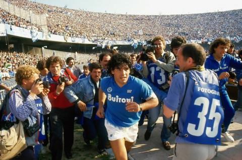 Diego Maradona a film by Asif Kapadia