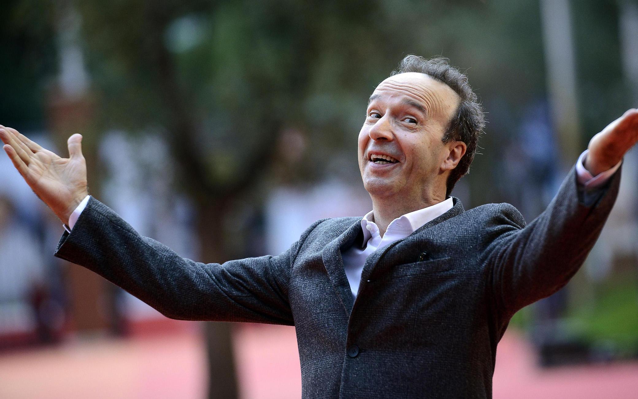 Roberto Benigni Leone d'oro alla carriera alla 78esima Mostra Internazionale d'Arte Cinematografica di Venezia.