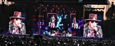 Guns'N'Roses Live in Firenze 2018, la leggenda