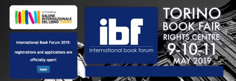IBF 2019 at Turin Book Fair, enrollment is open