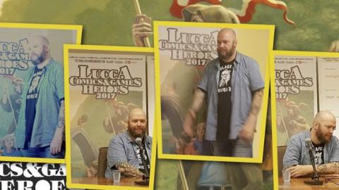 Jason Aaron, un creatore di mondi a Lucca Comics & Games 2017