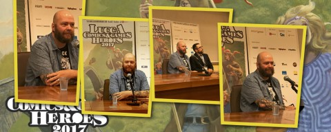 Jason Aaron, la conferenza stampa a Lucca Comics & Games 2017