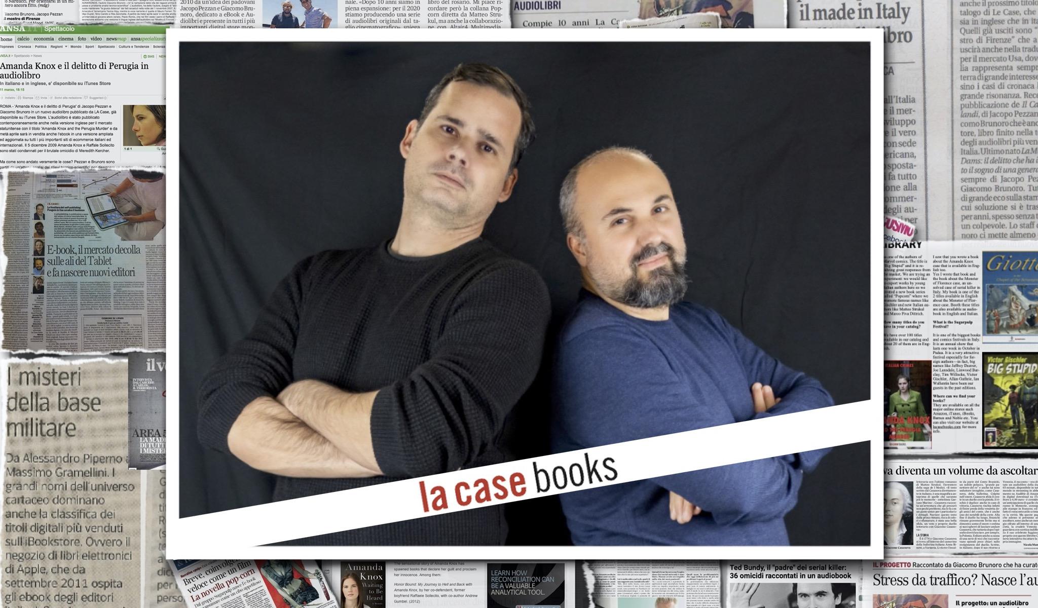 True Crime Diaries, il nuovo podcast di LA CASE Books