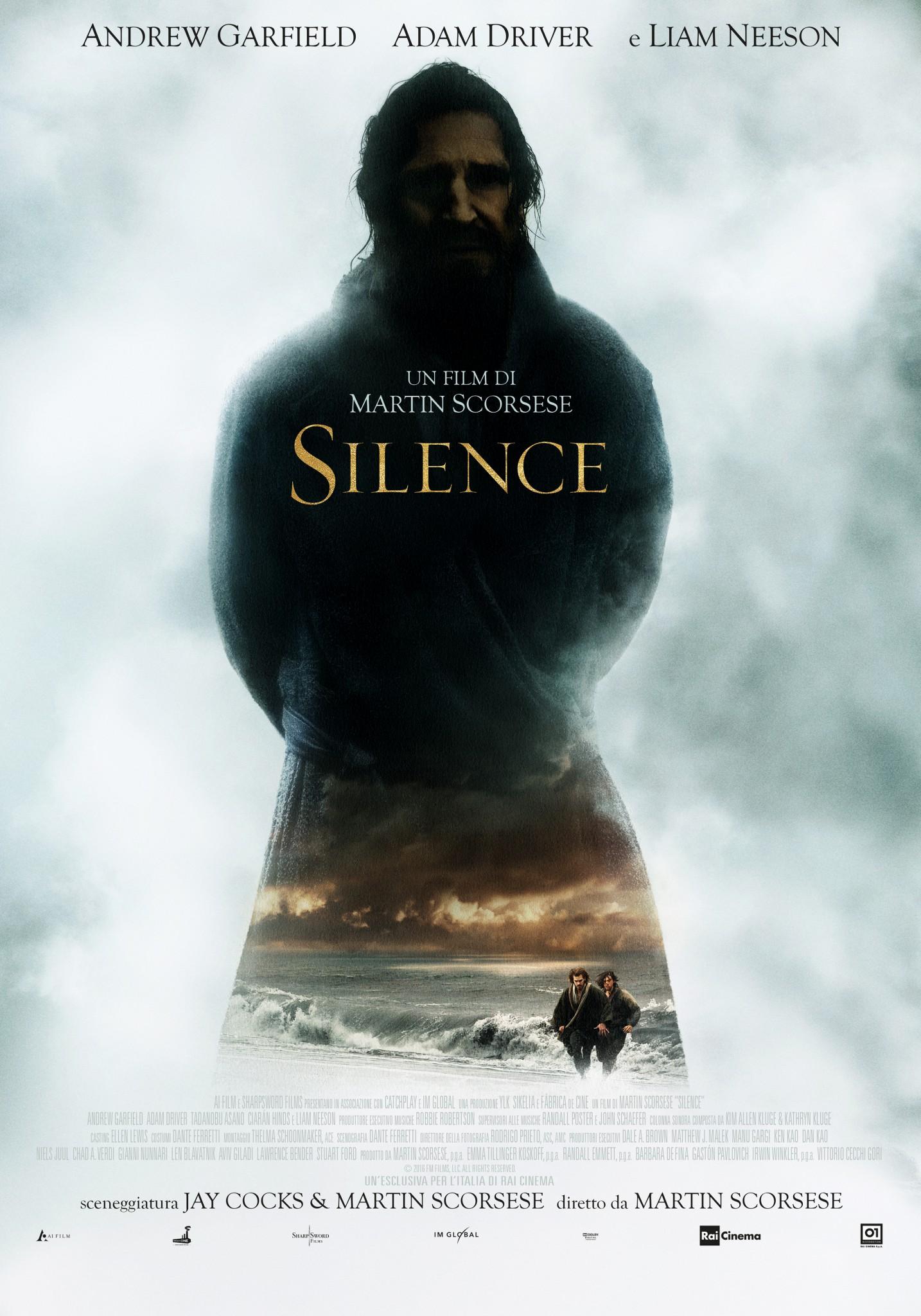 Silence di Martin Scorsese, il trailer ufficiale