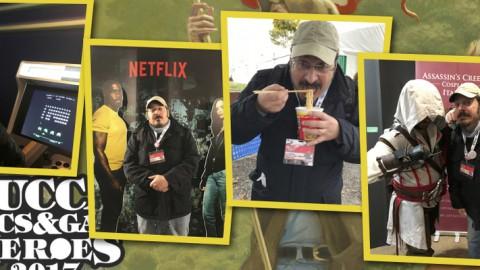 Lucca Comics & Games 2017 tra un lampredotto e un ramen.
