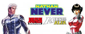 Nathan Never, Legs, May and Alfa Agency are back home!