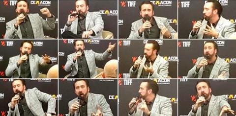 La Masterclass di Nicholas Cage al TiFF 2019