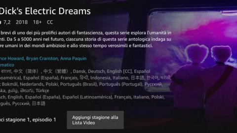Philip K. Dick's Electric Dreams, la nuova serie di Amazon Prime Video