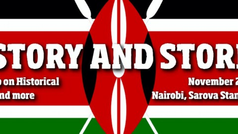 Sugarpulp flies to Kenya: workshop in Nairobi on the Historical Novel