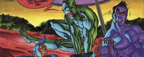 Ramarro di Giuseppe Palumbo, un fumetto bigger than life