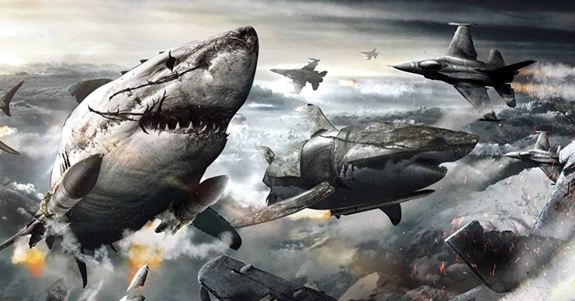 Sky Sharks, ovvero squali, zombi e nazisti: sarebbe la tempesta perfetta, però... La recensione di Massimo Zammataro per Sugarpulp MAGAZINE.