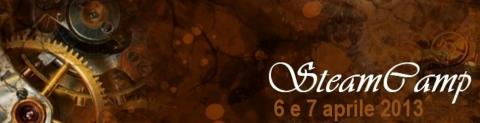 Steamcamp 2013: il 6 e 7 aprile a Cittadella (PD)