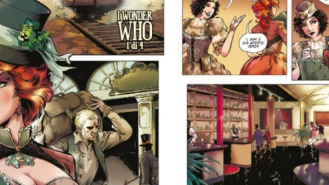 The Steams, un fumetto steampunk