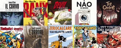I 10 fumetti più belli del 2013 per noi di Sugarpulp